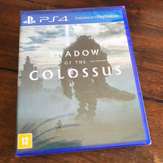 Shadow Of The Colossus Ps4 Mídia Física Lacrado