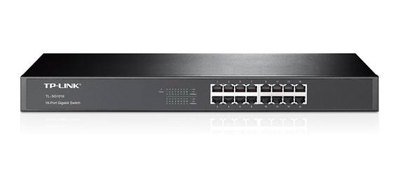 Switch Gigabit 16 Puertos Tp-link 16-port Gigabit Tl Sg1016