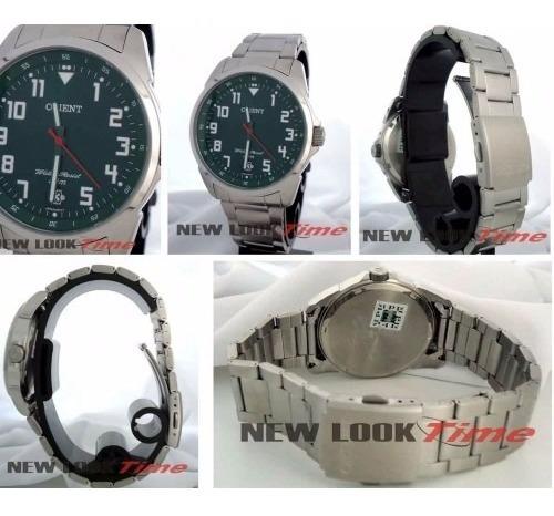 Relógio Orient Masculino Prata E Preto