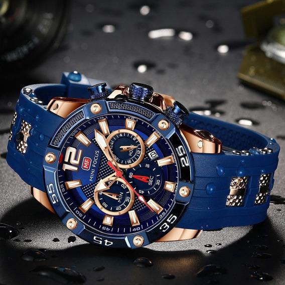 Relógio Mini Focus 0349 Sport Silicone