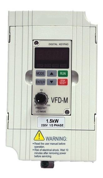 Variador De Frecuencia Vfd-m Tipo Delta 2 Hp 220 Vac 3 Fases