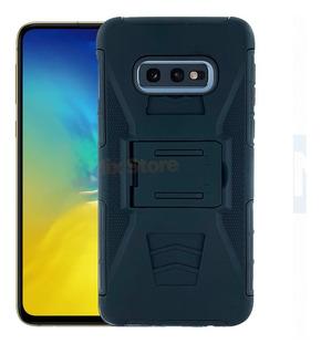Funda Protector Clip Uso Rudo Samsung S10e Lite + Mica