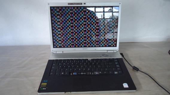 Notebook Sony Vaio Pcg 392l Pcg 3a2p Centrino 2gb Defeito