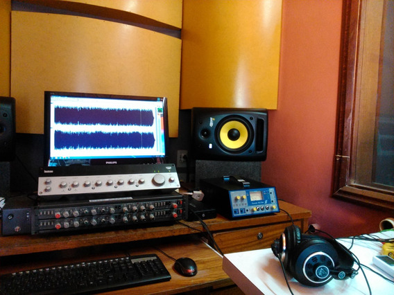 Estúdio, Gravação, Áudio Completo, Vendo Ou Troco Por Moto