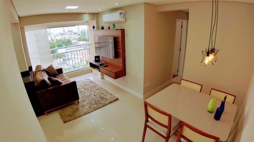 Apartamento Com 2 Dormitórios Sendo 1 Suíte E 2 Vagas À Venda, 52 M² Por R$ 440.000 - Vila Aurora - São Paulo/sp - Ap10089