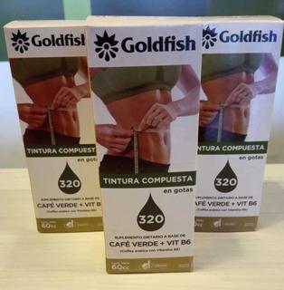 Promo X 3u Café Verde + Vitamina B6 Goldfish 60cc