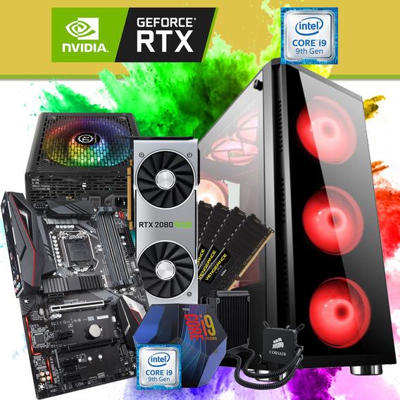 Pc Gamer I9 9900k Ddr4 Rtx 2080 Super 480 Ssd 1tb Rgb Barato