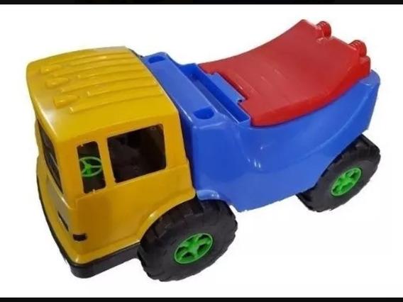 Camion Carrito Volteo De Juguete Montable Grande Nino