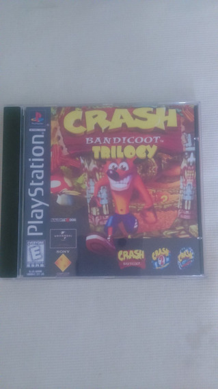 Jogo Ps1 3x1 Crash Bandicoot Trilogy ( Patch )