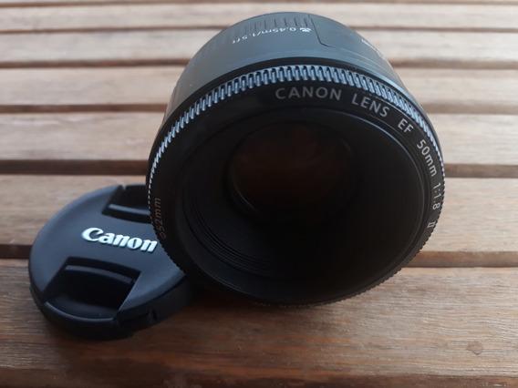 Lente Canon Ef 50mm F/1.8 - Novíssima