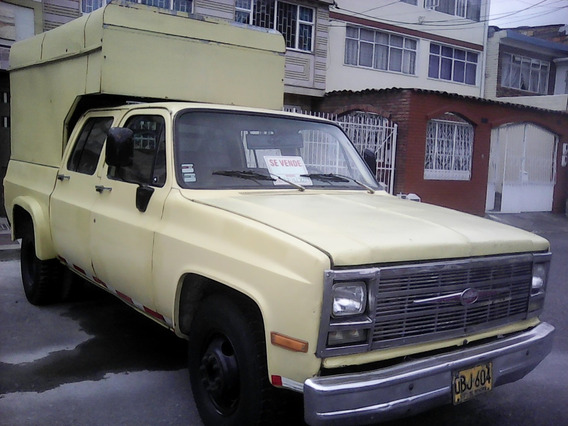 Camioneta Doble Cabina Chevrolet C-30