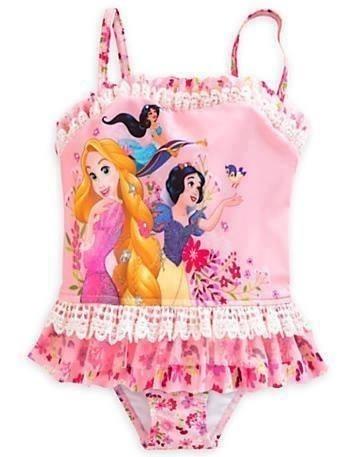 Biquíni Ou Roupão Princesas Original Disney Proteção Uv 50+