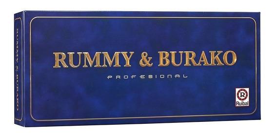 Juego De Mesa Rummy Burako Profesional Original Ruibal
