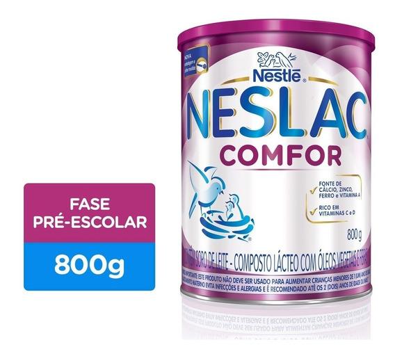 Neslac Comfor Composto Lácteo 800g