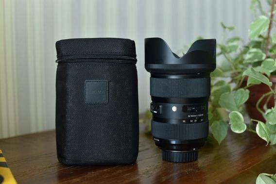 Lente 24-35 Sigma Art Nikon F2