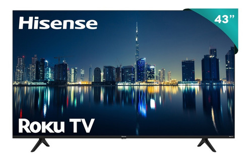 Pantalla Hisense Roku Tv 43  R6000gm