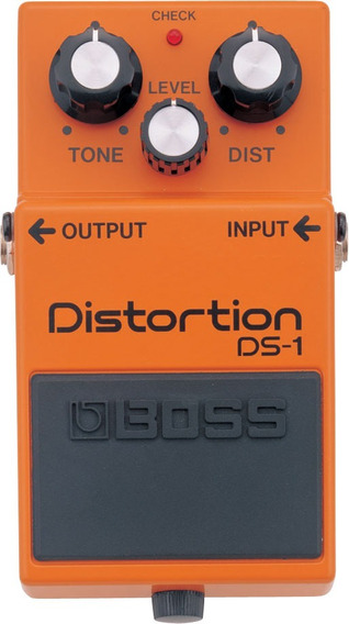 Pedal Boss Ds 1 Distortion Ds1 Boss Distorção Para Guitarra