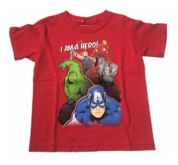 Remera Original Marvel Avengers En Talle 3