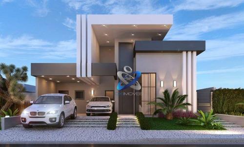 Imagem 1 de 3 de Casa Com 3 Dormitórios À Venda, 150 M² Por R$ 900.000,00 - Condomínio Terras Do Vale - Caçapava/sp - Ca0995