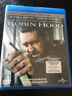 Robin Hood Director Cut Blu Ray Con Rusell Crowe