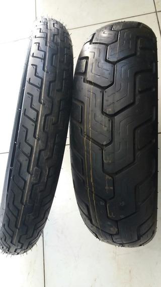 Par Pneu 160/80-15+ 90/90-21 Dunlop Honda Shadow 750 Abs