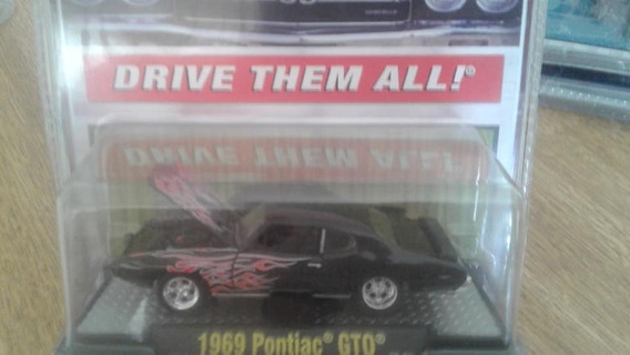 Miniatura M2 Machines Pontiac Gto 1969 Lacrado !