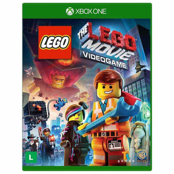Jogo Lego The Movie Xbox One - Mídia Física Novo Lacrado
