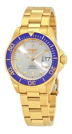 Reloj Invicta 9743 Automatico Dorado (mov. Seiko) Diver 200m