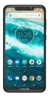 Celular Motorola Moto One 64gb 5.9 4gb 13mp Preto+cartão 32g