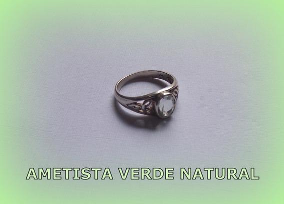 Anel Celta Love Triquetra Ametista V Nat Prata 3,0 Gr Aro 19