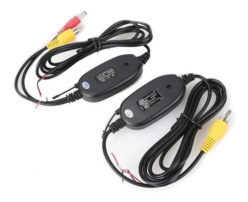 Kit Wireless De Câmara De Ré Visão Traseira Para Carro