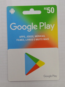 Gift Card Google Play R$ 50,00
