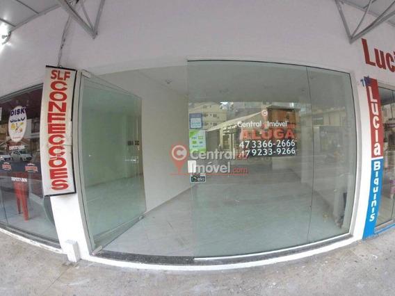 Loja Para Alugar, 32 M² Por R$ 3.500,00/mês - Centro - Balneário Camboriú/sc - Lo0028