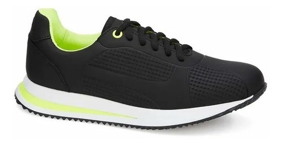 Tenis De Sneaker Negro 2707587 E-20