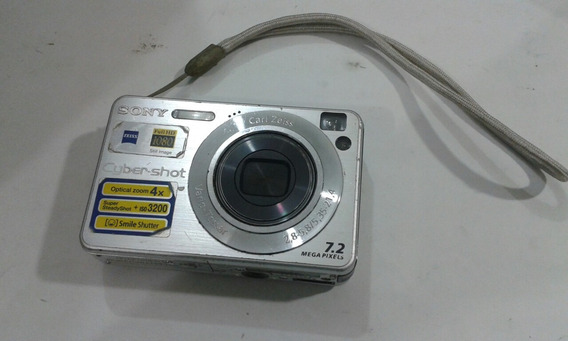 Camera Sony Cyber-shot Usada 7.2 Mega Pixels /5041