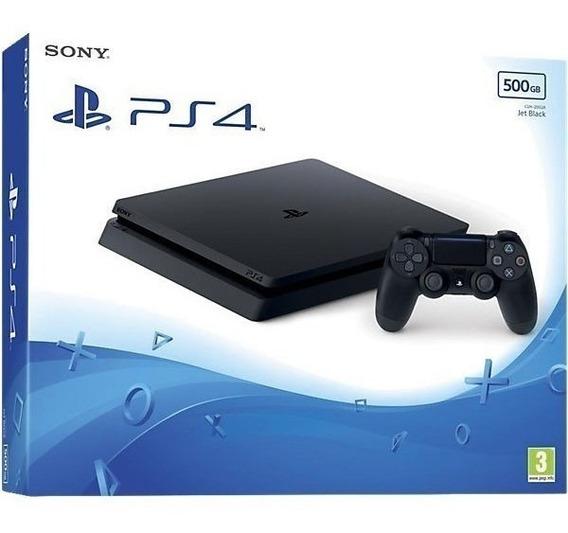 Ps4 Playstation 4 Slim 500gb Original + Nf Em Campinas Sp