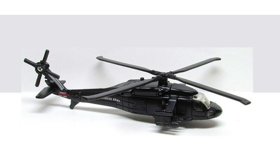 Uh-60a Black Hawk Maisto Tailwinds Helicóptero