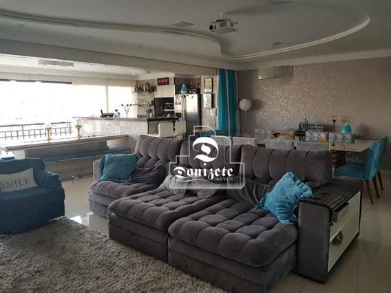 Apartamento Com 4 Dormitórios À Venda, 242 M² Por R$ 1.700.000,00 - Nova Petrópolis - São Bernardo Do Campo/sp - Ap10601