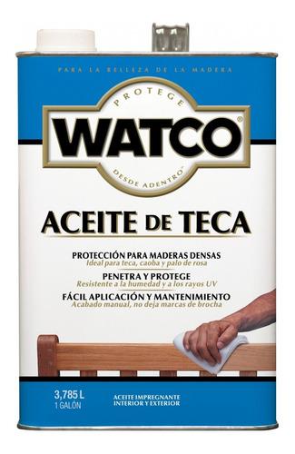 Cuidado De La Madera Rust-oleum Watco Aceite De Teca Aceite