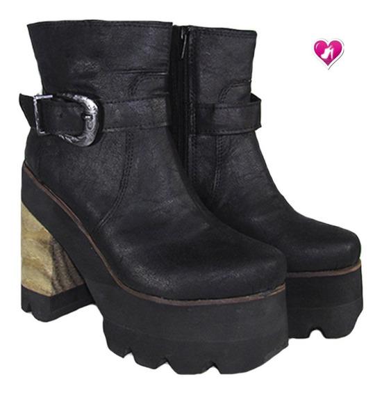 Borcego Con Plataforma Mujer Modelo Onic De Shoes Bayres