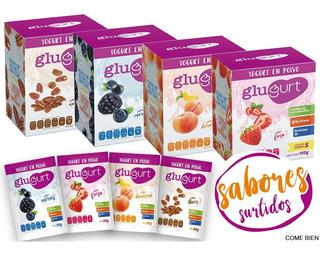 Glugurt Yogurt En Polvo Paquete Surtido