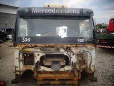 Cabine Mb Axor 3340 Canavieiro - Montada Parcial - Branca