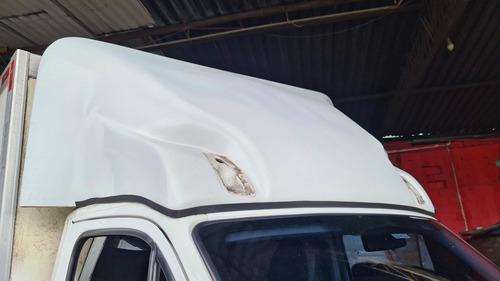 Defletor Iveco 35s14 Quebra Vento Corta Fibra Spoiler Fronta