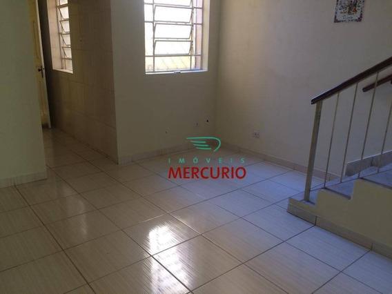 Casa Com 2 Dormitórios Para Alugar, 60 M² Por R$ 1.200,00/mês - Centro - Bauru/sp - Ca1563