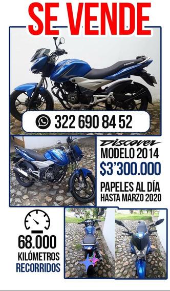 Discover 125 Azul - 2014