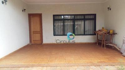 Casa Com 3 Dormitórios À Venda, 202 M² Por R$ 530.000 - Jardim Irajá - Ribeirão Preto/sp - Ca1198