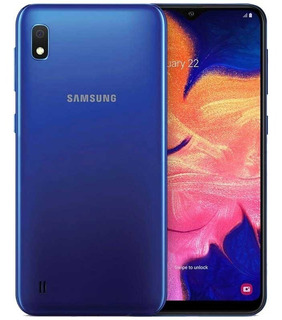 Samsung Galaxy A10 32 Gb 2 Gb Ram Azul + Templado De Regalo!