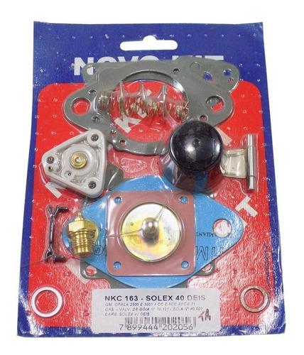 Imagem 1 de 1 de Kit Carburador Solex Opala H40 H44 Eis 4cc 6cc Apos 1971