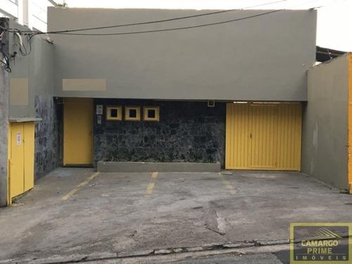 Casa Térrea Comercial Com 1200 Metros, A 8 Minutos Do Metro Vila Madalena - Eb85964