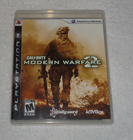 Call Of Duty Modern Warfare 2 Ps3 * Leia